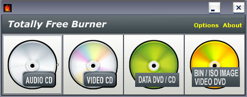 دانلود نرم افزار Totally Free Burner optical drive copy software
