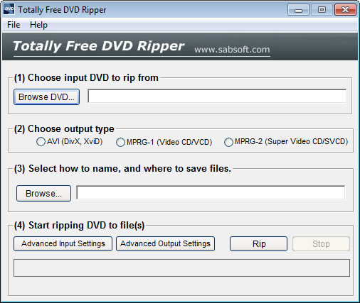 Totally Free DVD Ripper, 100% Free DVD Ripping Software